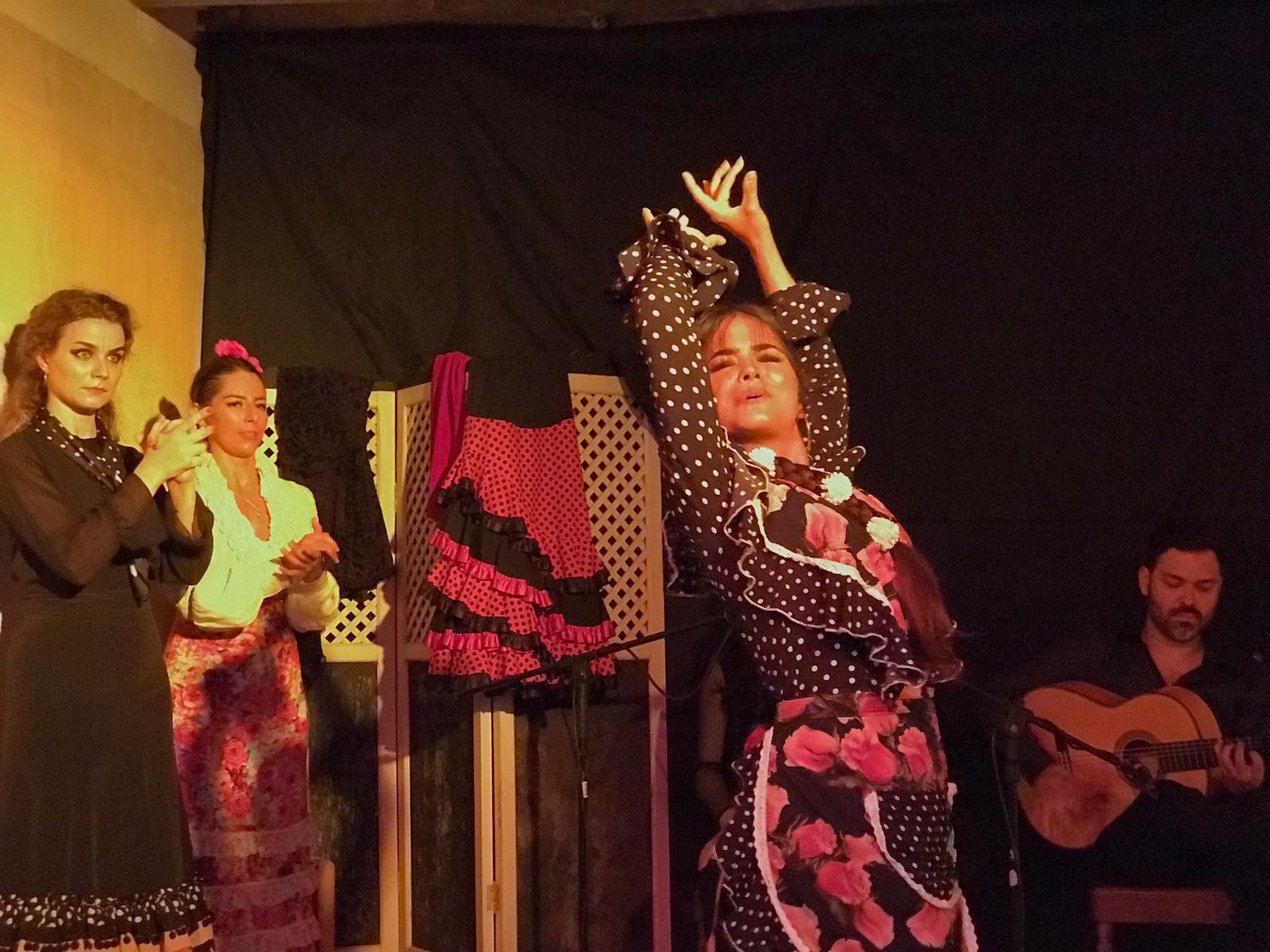 Tablao le 3 03/08/2019 à El Camerino Sevilla